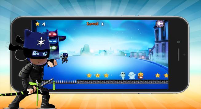 Pj Ninja Masks Run Warrior apk screenshot