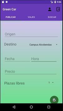 GreenCar apk screenshot