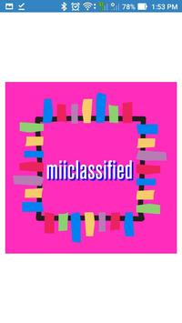 MiiClassified - Buy Sell Nearby / Globally poster