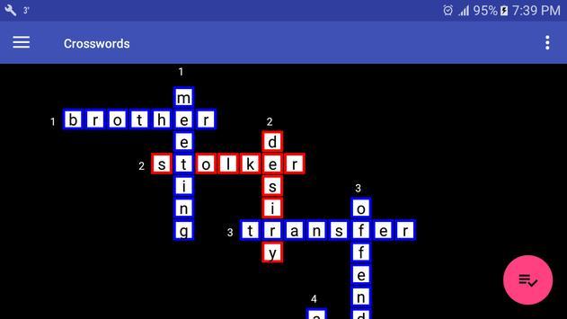 Crosswords screenshot 7