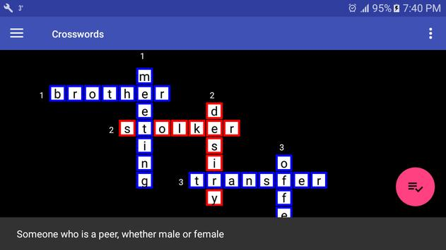 Crosswords screenshot 8