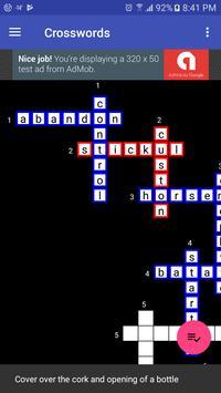 Crosswords screenshot 2