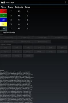 Train Score Keeper apk screenshot