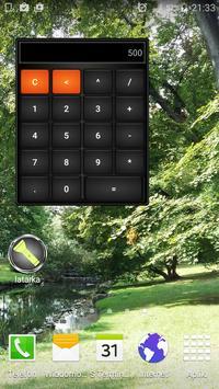 Calculator Widget poster