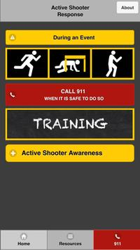 Active Shooter Response poster