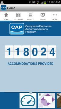 CAP App poster