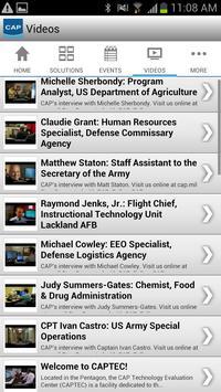 CAP App apk screenshot