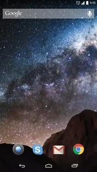 Milky Way Galaxy Live Wallpap apk screenshot
