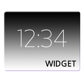 Simple Digital Clock Widget icon