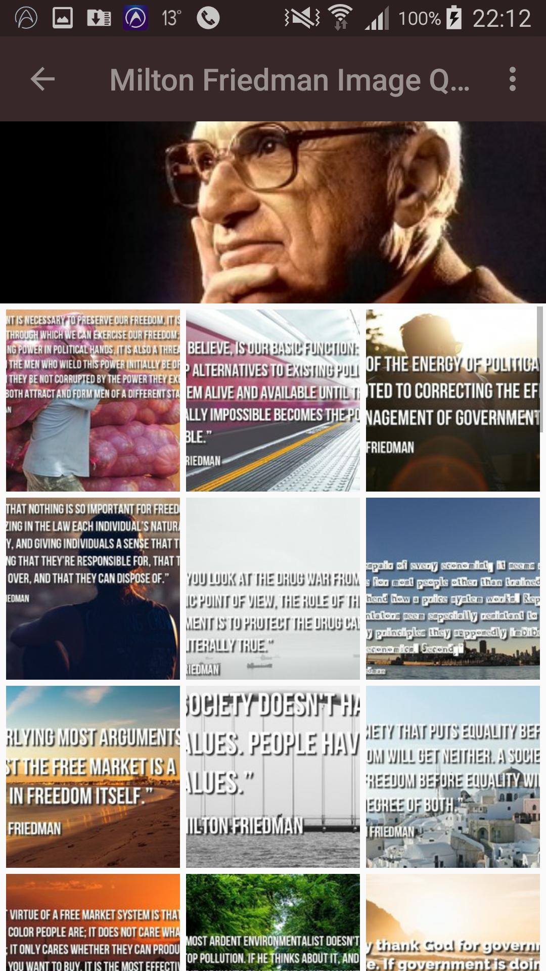 Milton Friedman Quotes For Android Apk Download