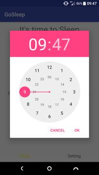 GoSleep apk screenshot