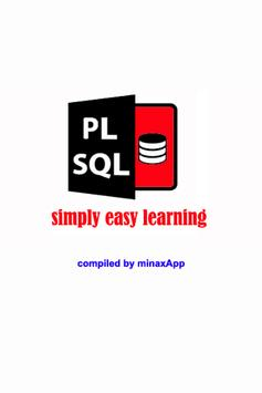 PL-SQL simply easy learning poster