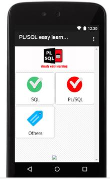 PL-SQL simply easy learning screenshot 1