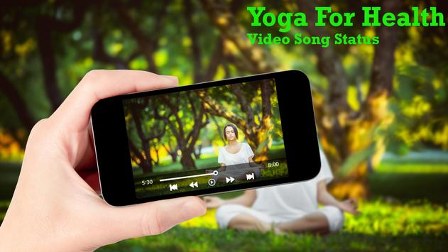 Yoga For Health Video Song Status screenshot 2