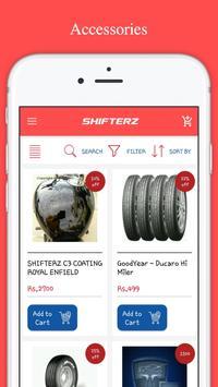 Shifterz Automotives apk screenshot