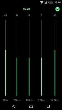 mMusic Skin Neon Green apk screenshot