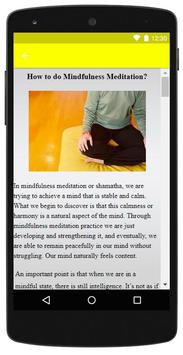 Mindfulness Meditation screenshot 3
