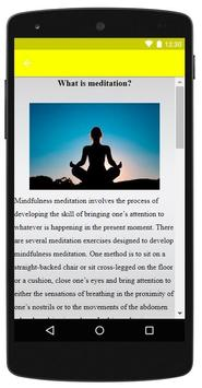 Mindfulness Meditation screenshot 1