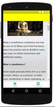 Mindfulness Meditation screenshot 2