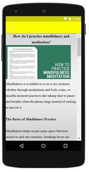 Mindfulness Meditation screenshot 4