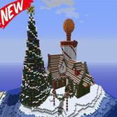 Christmas Park map for MCPE Zeichen