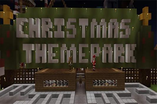 Christmas Park map for MCPE screenshot 1