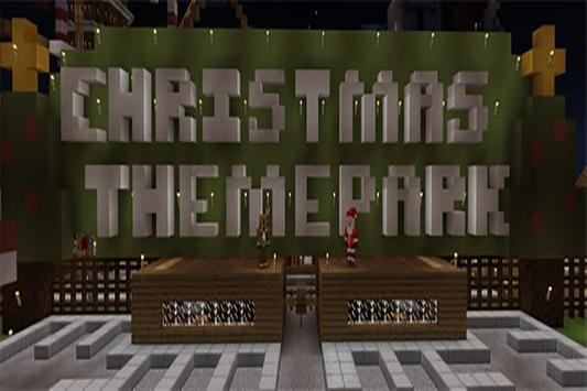 Christmas Park map for MCPE screenshot 1
