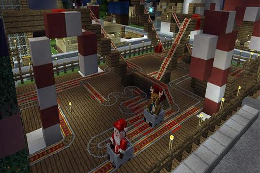 Christmas Park map for MCPE screenshot 2