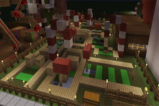 Christmas Park map for MCPE screenshot 8