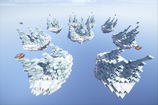 SkyWars Frozen map for MCPE screenshot 7