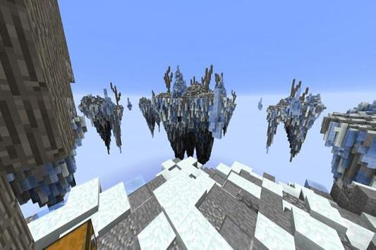 SkyWars Frozen map for MCPE poster