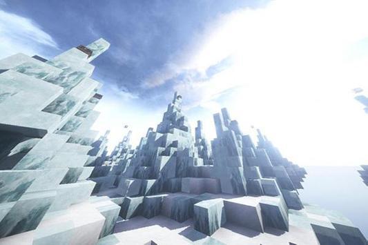 SkyWars Frozen map for MCPE screenshot 1