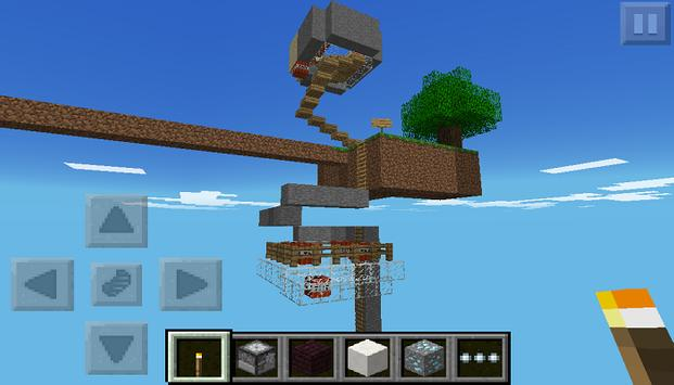 SkyBlock Pe Minecraft PE Map APK Download Free Entertainment APP - Kostenlose maps fur minecraft pe