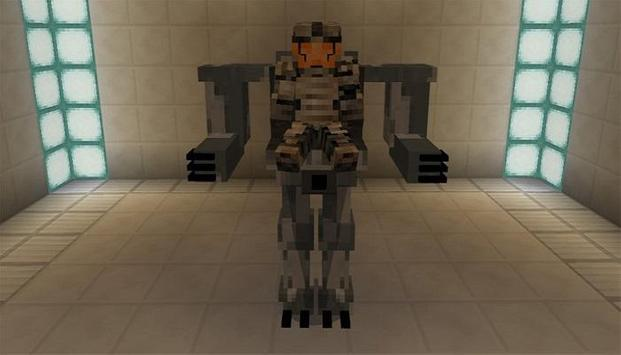 Mech Suite Minecraft Addon Mod apk screenshot