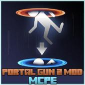 Mod Portal Gun 2 Mcpe icon