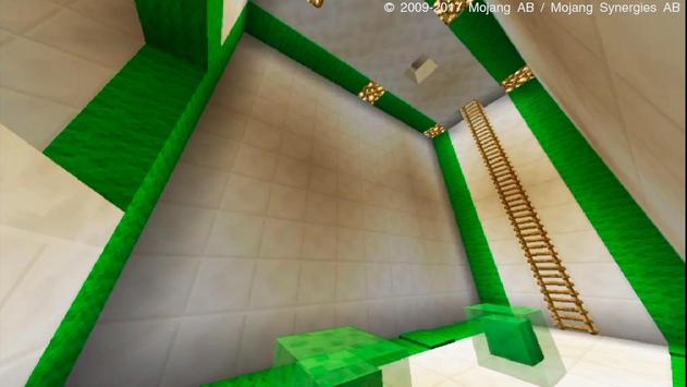 Slime Blocks Minecraft PE Parkour Map poster ...