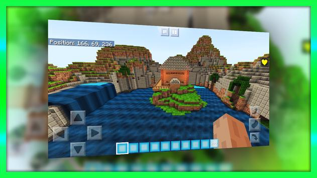 New Exciting Mini-game Fight. Map for MCPE poster