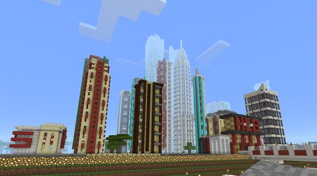 city maps for minecraft pe apk screenshot