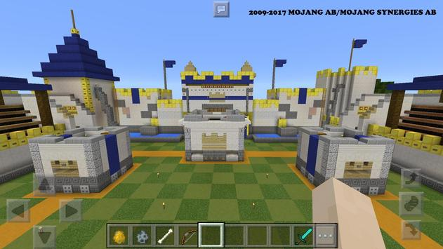 Map Craft Royale for MCPE ★ poster