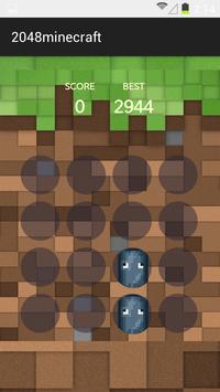 2048 Minecraft poster