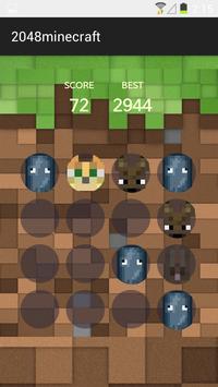 2048 Minecraft screenshot 1