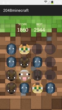 2048 Minecraft screenshot 2