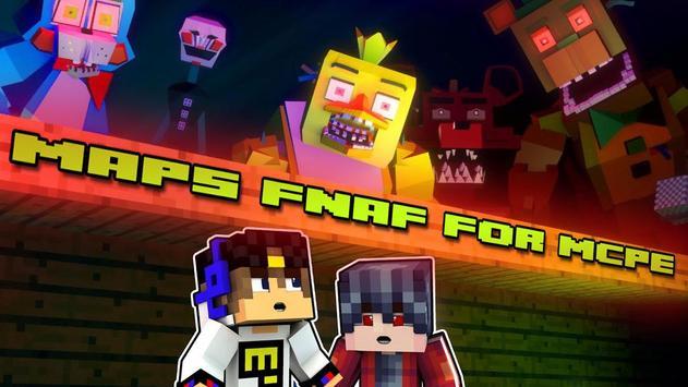 Maps FNAF for Minecraft screenshot 5