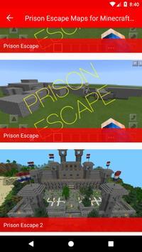 Prison Escape Maps for Minecraft PE screenshot 3