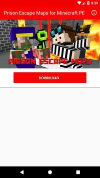 Prison Escape Maps for Minecraft PE poster