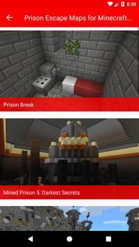 Prison Escape Maps for Minecraft PE screenshot 1
