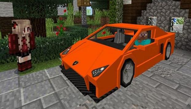 Sportcars Addon For Minecraft poster