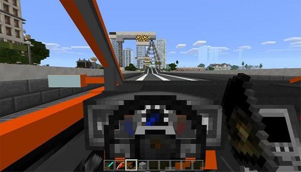 Sportcars Addon For Minecraft apk screenshot