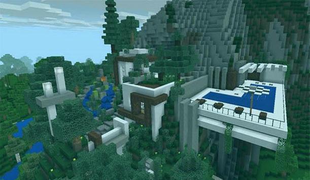 Minecraft Mountain House