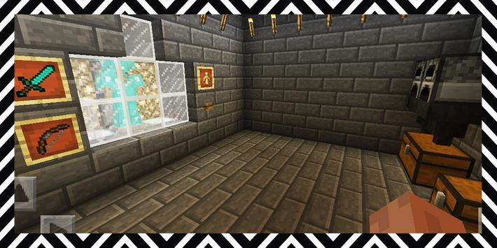 Terrible Nightmares. Map for MCPE poster
